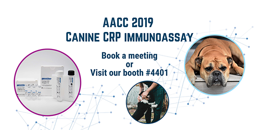 Canine CRP at AACC 2019