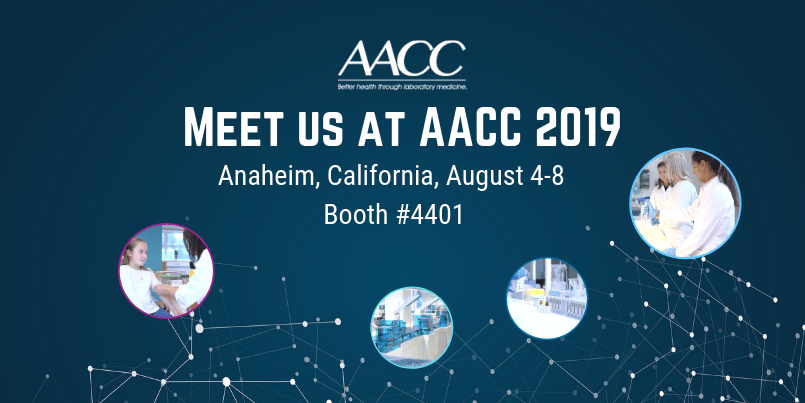 Meet us at AACC 2019
