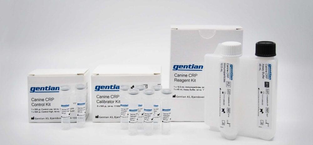 Canine-CRP immunoassay