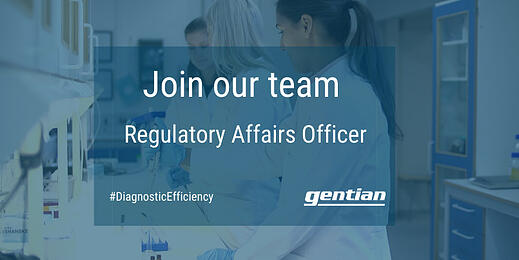 Gentian has an exciting opportunity as Regulatory Affairs Officer