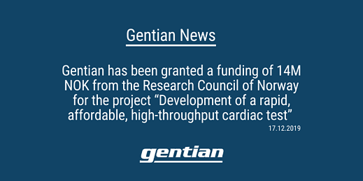 Gentian News: Turbidimetric Cardiac Immunoassay