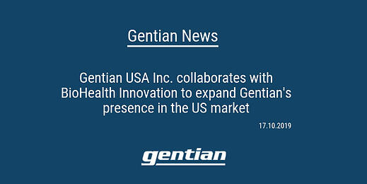Gentian expands presence in the US market