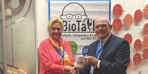 Gentian's CEO Dr Hilja Ibert @ BIOTALK podcast
