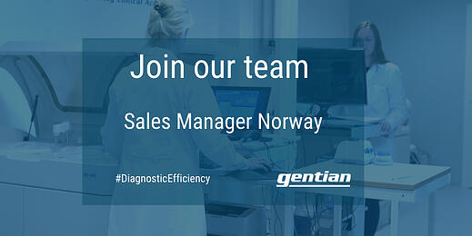 Available position: Sales Manager Norway