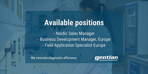 Available positions: Nordics and Europe
