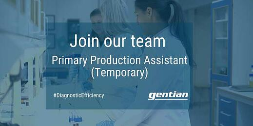 Primary Production Assistant (Temporary)