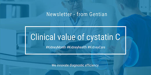 Newsletter: Clinical value of cystatin C #KidneyMonth