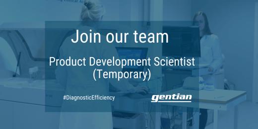 Product Development Scientist (Temporary)