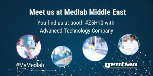 Meet Gentian at Medlab Middle East 2021