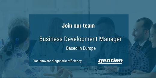 We are looking for a Business Development Manager based in Europe