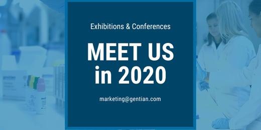 Meet us in 2020
