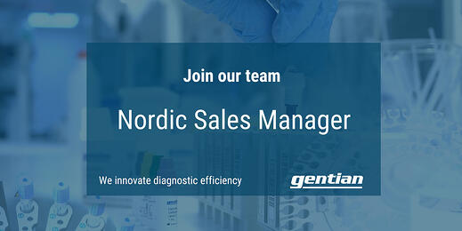 We are looking for a Nordic Sales Manager