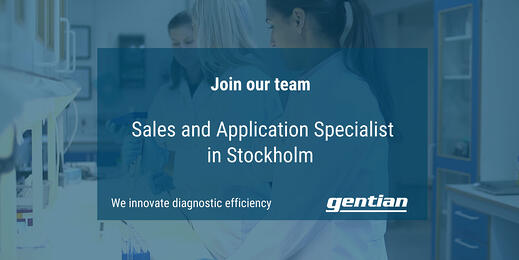 We are looking for a Sales and Application Specialist (Stockholm)