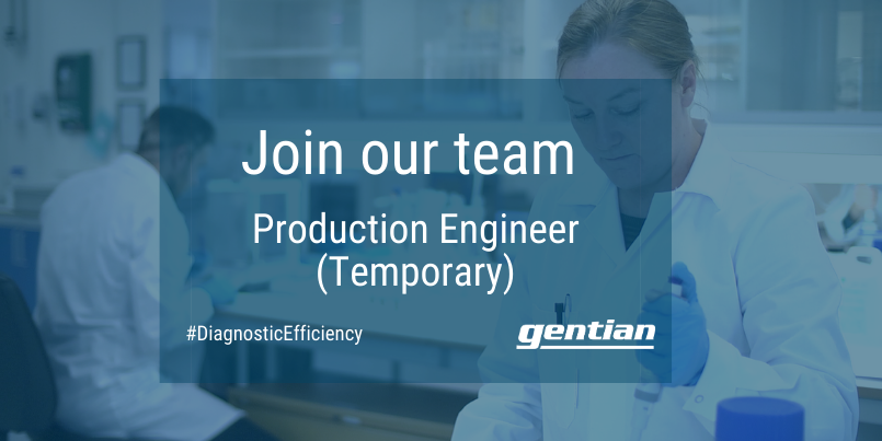 Production Engineer - Temporary position
