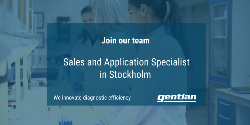 Available position: Sales and Application Specialist, Stockholm